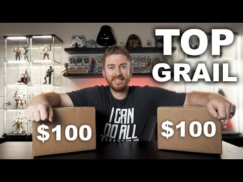Unboxing 2 $100 ToyUSA Mystery Boxes - TOP GRAIL