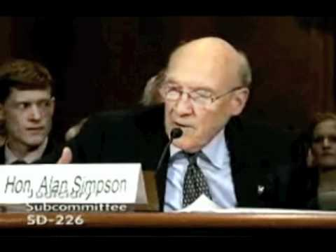 The Toils of Fundraising, as described by Former Senator Alan Simpson