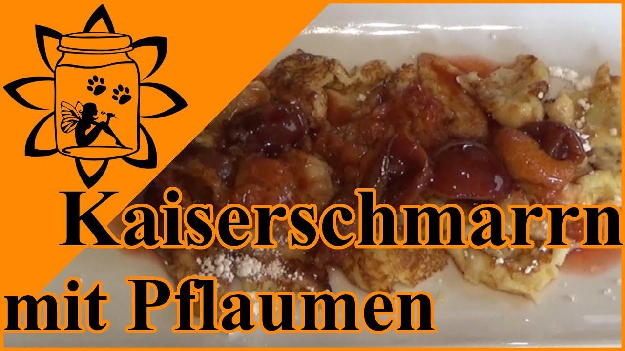 Kaiserschmarrn Mit Karamellisierten Pflaumen Rezept Kochen Youtube