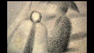 "Georges Seurat : ""Slant"" d r a w i n g s"