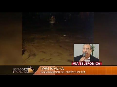 Entrevista Vía Telefónica al  Gobernador de Puerto Plata, Ivan Rivera Enfoque Matinal