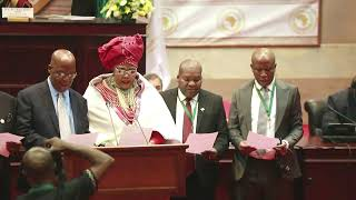 Gambar cover CIC Julius Malema Sworn in at the 3rd Ordinary Session of the Pan African Parliament