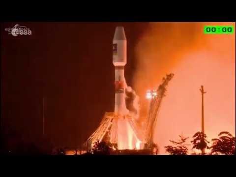 Galileo 13 & 14 - Liftoff replay #ESA