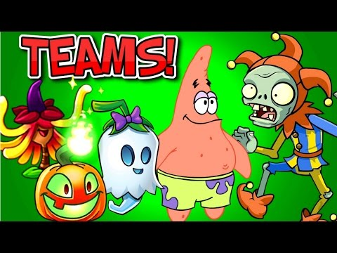 Plants vs. Zombies 2 TEAMS JESTER ZOMBIE vs Team Plants PART 2 ✔ PVZ 2 Mod by Primal Gameplay