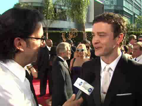 Justin interview with People   2009 Emmy