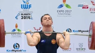 2014 World Weightlifting Championships, Men 85 kg \ Тяжелая Атлетика. Чемпионат Мира