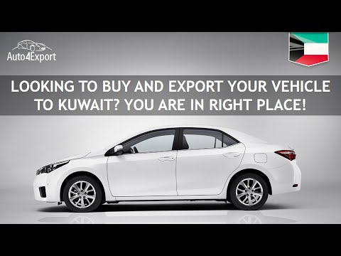 Shipping cars from USA to Kuwait - Auto4Export