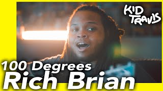 Rich Brian 100 Degrees Kid Travis Cover