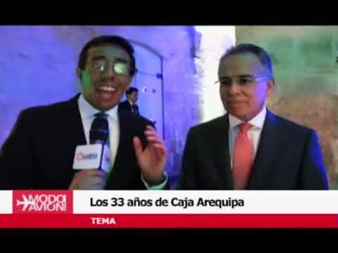 #ModoAvión: 33 Años De La Caja Arequipa.