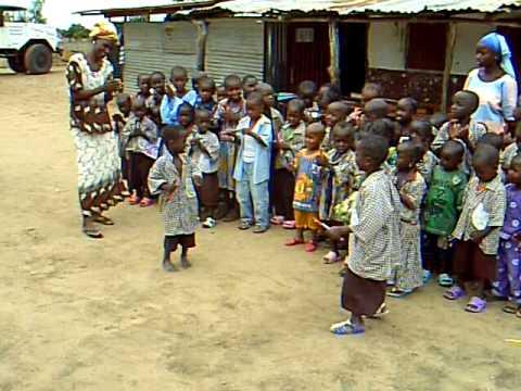 Nursery school mariama kunda the Gambia
