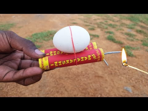 Eggs Vs Diwali bomb (Crackers) || Ideas Factory
