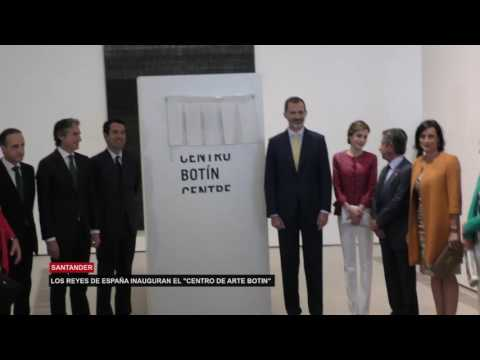 LOS REYES DE ESPAÑA INAUGURAN EL 'CENTRO DE ARTE BOTIN'