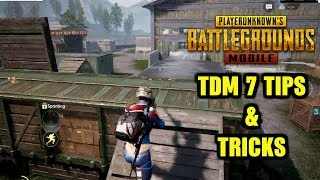 PUBG MOBILE TDM WAREHOUSE TOP 7 TIPS AND TRICKS   NOOB TO PRO GUIDE #1