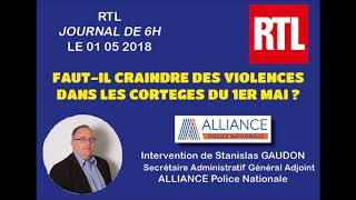 Faut-il craindre des violences dans les cortèges du 1er mai ?