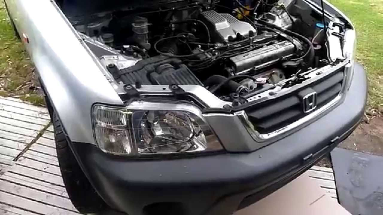small resolution of 2000 honda cr v repairs pt1 youtube 97 honda cr v engine bay diagram