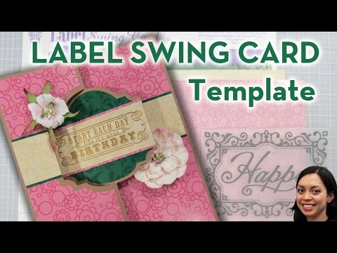 Label Swing Card Template - Simply Ann