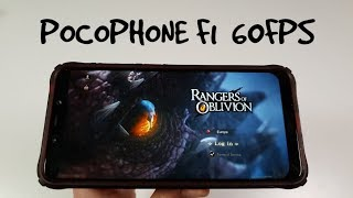 Pocophone F1 Rangers of Oblivion Gameplay/Ultra high Max Graphics 60FPS Snapdragon 845