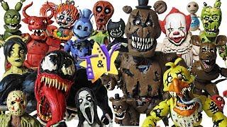 Коллекция фигурок из пластилина 133 Фигурки Таши All figurines from plasticine