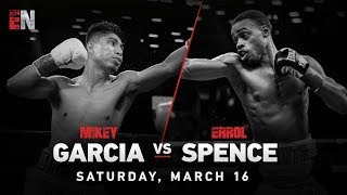 WOW Mikey Garcia vs Errol Spence PBC On FOX Shocking The World