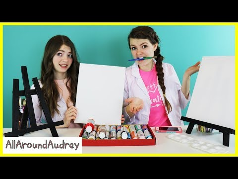 Audrey And Jordan Paint Portraits Of Each Other Allaroundaudrey