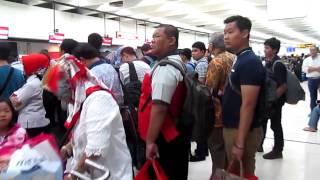 'DIKERJAIN' LION AIR | Penerbangan JT 388 Jadi JT 390 Boeing 737-900ER Jakarta - Pekanbaru