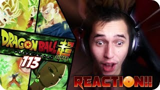 BEAUTY & THE BEAST!| *GOKU VS CAULIFLA* Dragon ball Super Episode 113 REACTION!!