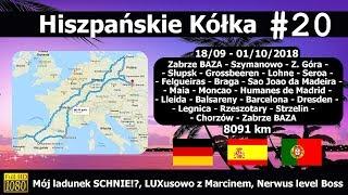 Hiszpańskie Kółka #20 Mój Ładunek Jeszcze Schnie!?, Luxusowo Z Marcinem, Nerwus Level Boss