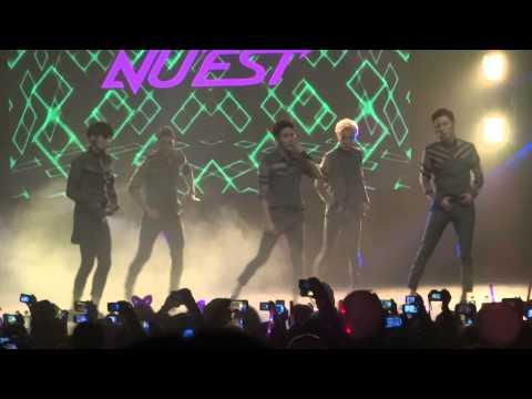 """NU'EST 뉴이스트 """"Hello"""" Concierto en Chile HD"""