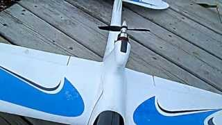 Beginners Rc Plane Axn Floater Jet / Basic Aerobatics In Yard