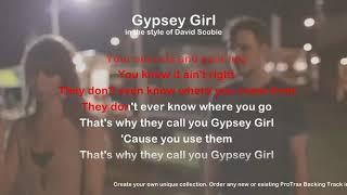 Gypsey Girl - ProTrax Karaoke Demo