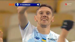 Фото УПЛ   Чемпионат Украины по футболу 2021   Динамо – Днепр-1 - 2:0. Видео гола Гармаша (70`)