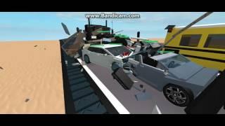 (ROBLOX) Multi-Vehicle Crash on Interstate 10