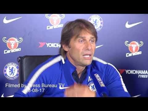 Antonio Conte pre Tottenham vs Chelsea