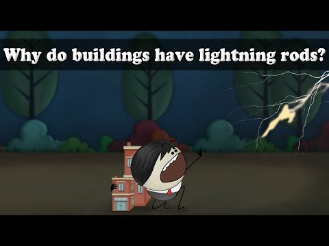 Earthing - Why do buildings have lightning rods?
