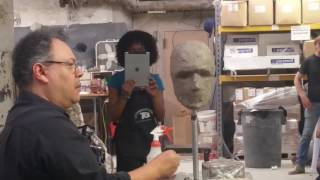 Jordu Schell At CONstruct 2017 hosted at the Complete Sculptor