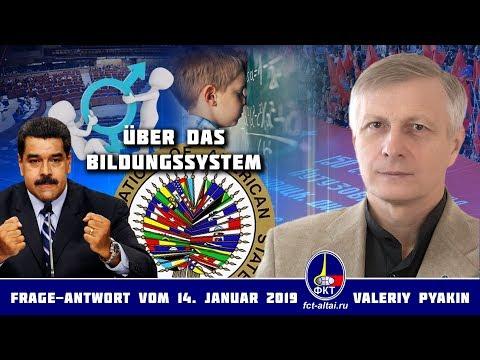 Über das Bildungssystem (2019.01.14 Valeriy Pyakin)
