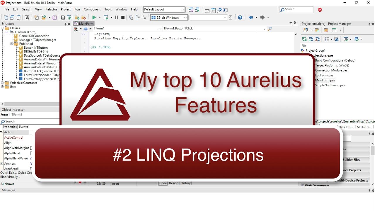 TMS Software | Blog | My Top 10 Aurelius Features - #2 LINQ
