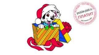 101 далматинец смотреть онлайн  Как легко карандашом нарисовать собаку далматинца