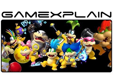 All Koopaling Bowser Jr Bowser Boss Fights In New Super Mario Bros U Wii U Gameplay Spoilers