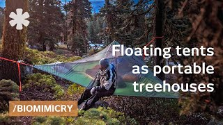 Tentsile Tree Tents: Floating Treehouses Mimic Spider Webs