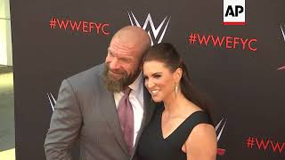 Rousey, The Bella Twins and Triple H celebrate WWE