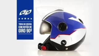 Capacete New Atomic Superbike - Pro Tork