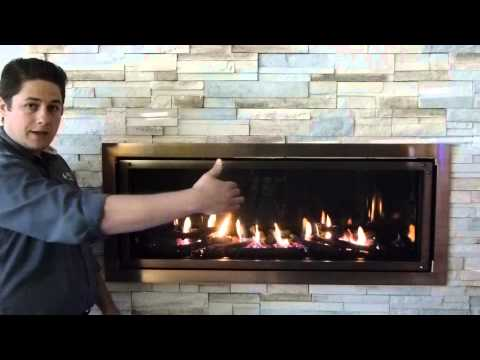 Mendota Linear Direct Vent Gas Fireplace Modern ML47 Product Review -  YouTube - Mendota Linear Direct Vent Gas Fireplace Modern ML47 Product