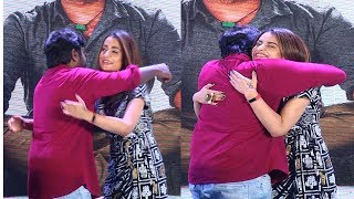 Funny moment in 96 movie 100days celebration Vijay Sethupathi Hugs Trisha