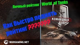 видео Личный рейтинг и КПД в world of Tanks