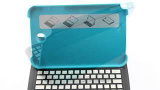 ultra thin samsung galaxy note 8 0 aluminum bluetooth qwerty keyboard blue