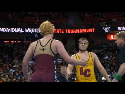 2/24/17 - Wrestling - WIAA Division 2 Individual State Championships Semifinals