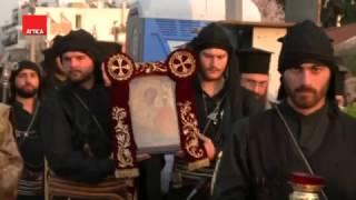Θεμέλιος Λίθος και Αγιασμός του Ιερού Ναού «Παναγίας Σουμελά» στον Ασπρόπυργο (από attica tv) 2017