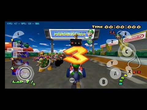 Mario kart double dash Widescreen 1080p/Android