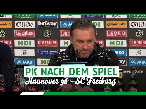 PK nach dem Spiel | Hannover 96 - SC Freiburg